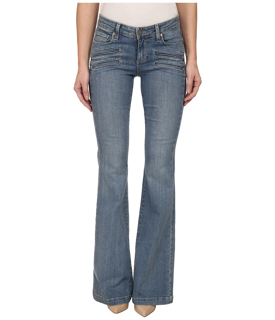 Paige - Fiona Flare in Paulina No Whiskers (Paulina No Whiskers) Women's Jeans