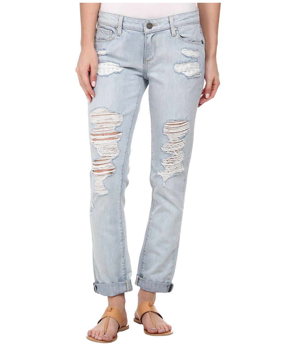 Paige - Jimmy Jimmy Skinny in Sawyer Destructed (Sawyer Destructed) Women's Jeans