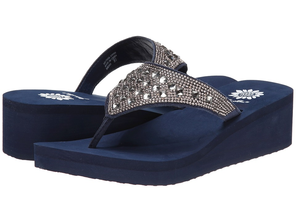 Yellow Box - Birder (Navy) Women's Sandals