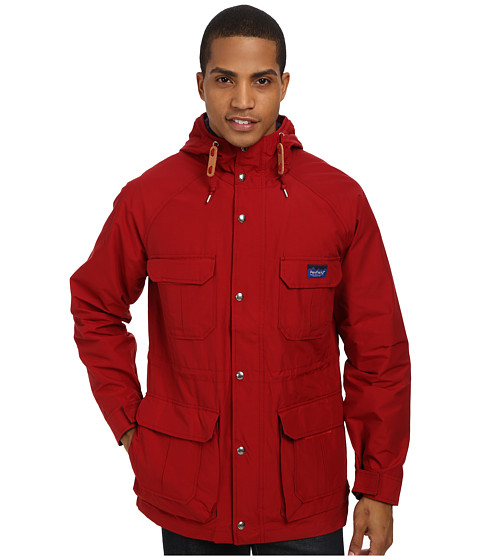 Penfield - Kasson 1975 Mountain Parka (Deep Red) Men's Coat