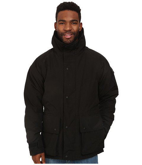 Penfield - Holgate Faux Fur Lined Field Jacket (Black) Men's Coat