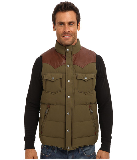 Penfield - Stapleton Vest Yoke Down Vest (Lichen) Men