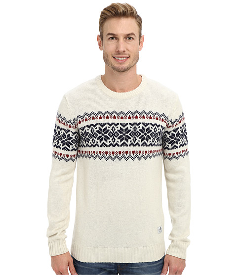 Penfield - Hickman Knitted Crew (Off White) Men