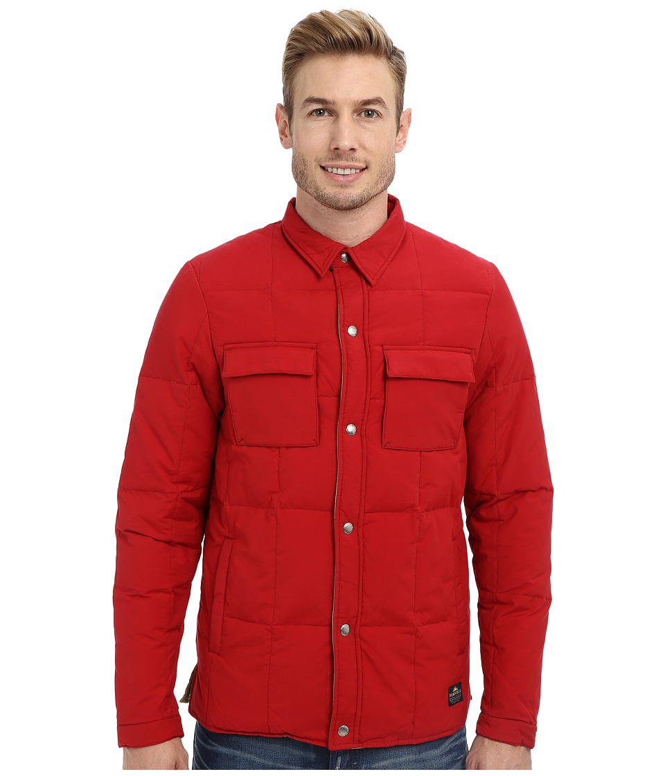 Penfield - Loring Down Insulated Shirt (Deep Red) Men's T Shirt