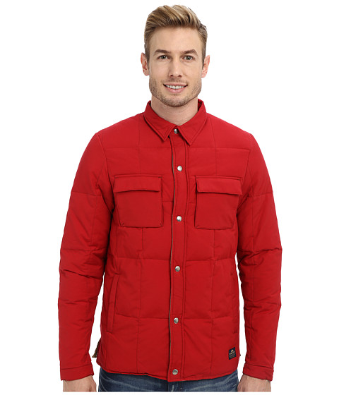 Penfield - Loring Down Insulated Shirt (Deep Red) Men