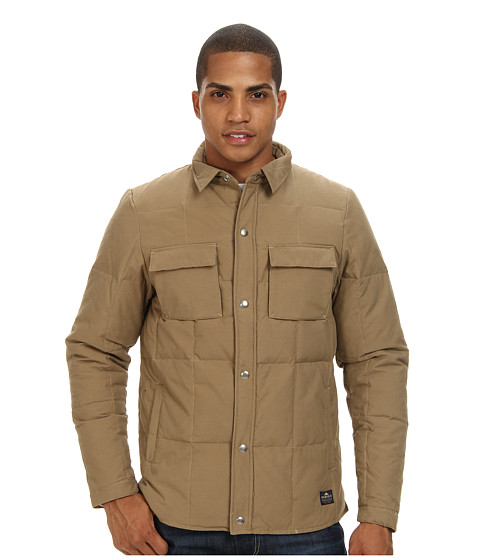 Penfield - Loring Down Insulated Shirt (Khaki) Men's T Shirt