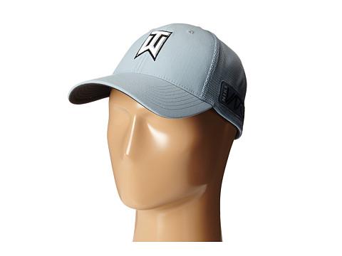 Nike Golf - TW Tour Legacy Mesh Cap (Dove Grey/Dove Grey/Volt) Caps