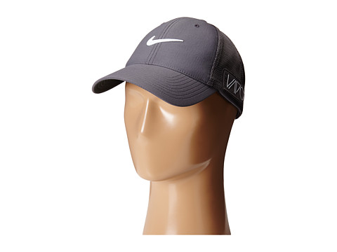 Nike Golf - Tour Legacy Mesh Cap (Dark Grey/Dark Grey/White) Caps