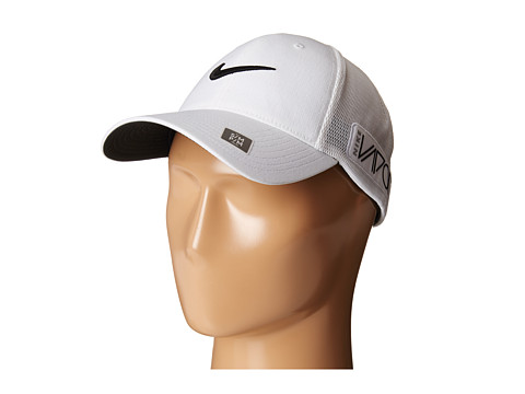 Nike Golf - Tour Legacy Mesh Cap (White/White/Black) Caps