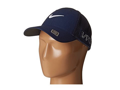 Nike Golf - Tour Legacy Mesh Cap (College Navy/College Navy/White) Caps