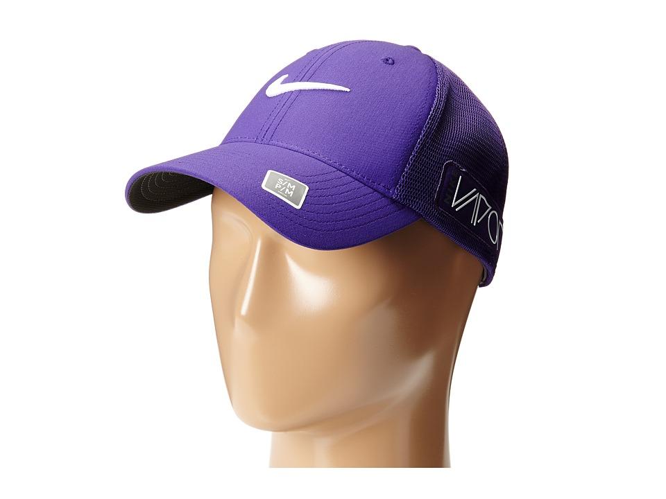 Nike Golf - Tour Legacy Mesh Cap (Court Purple/Court Purple/White) Caps