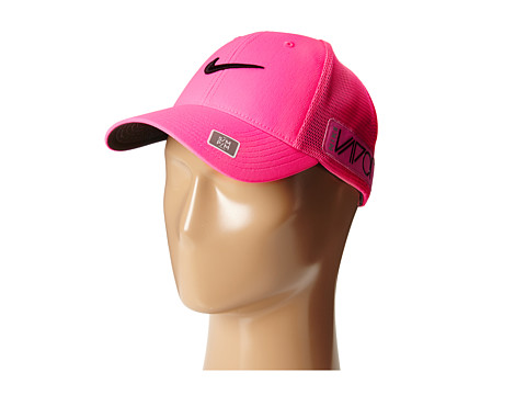 Nike Golf - Tour Legacy Mesh Cap (Pink Pow/Pink Pow/Black) Caps