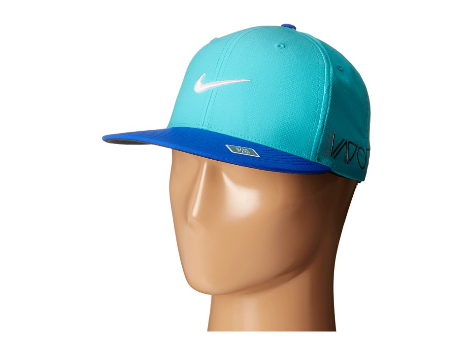 Nike Golf - True Tour Cap (Lt Retro/Lyon Blue/White) Caps