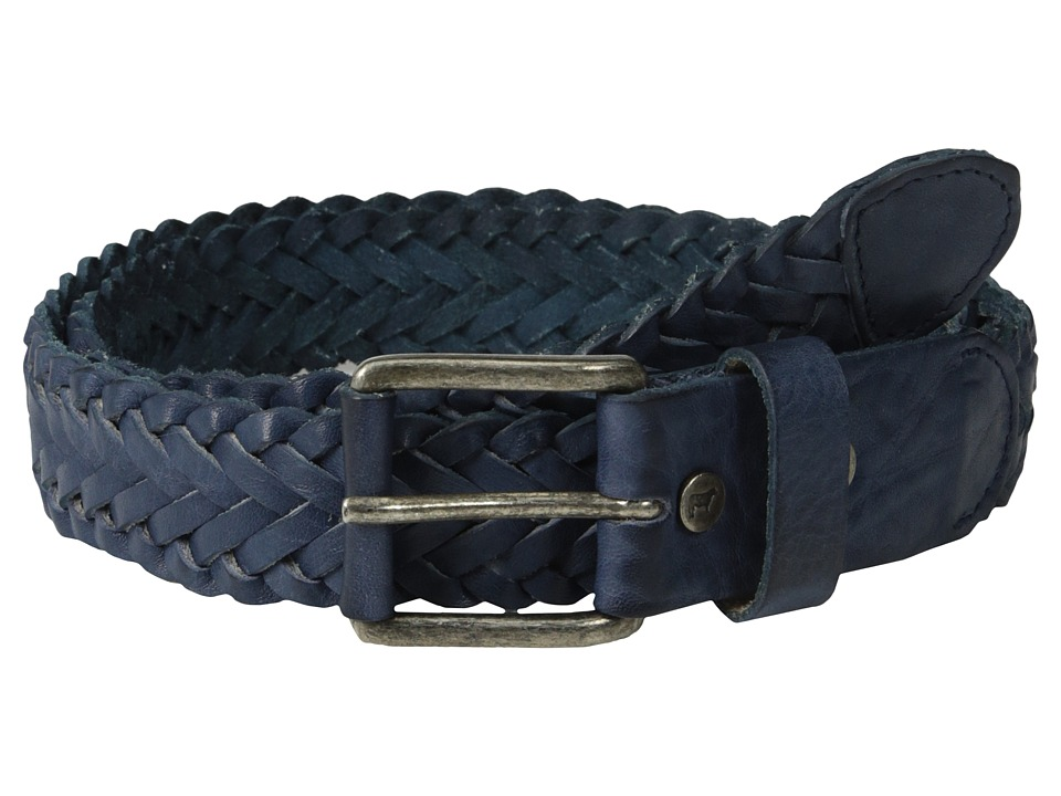 Will Leather Goods - Beulah Belt (Navy) Women's Belts