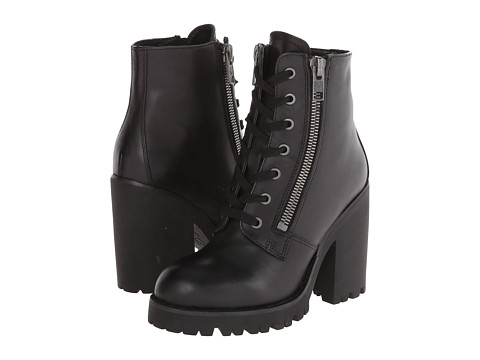ASH - Poker (Black Box Calf) Women's Zip Boots