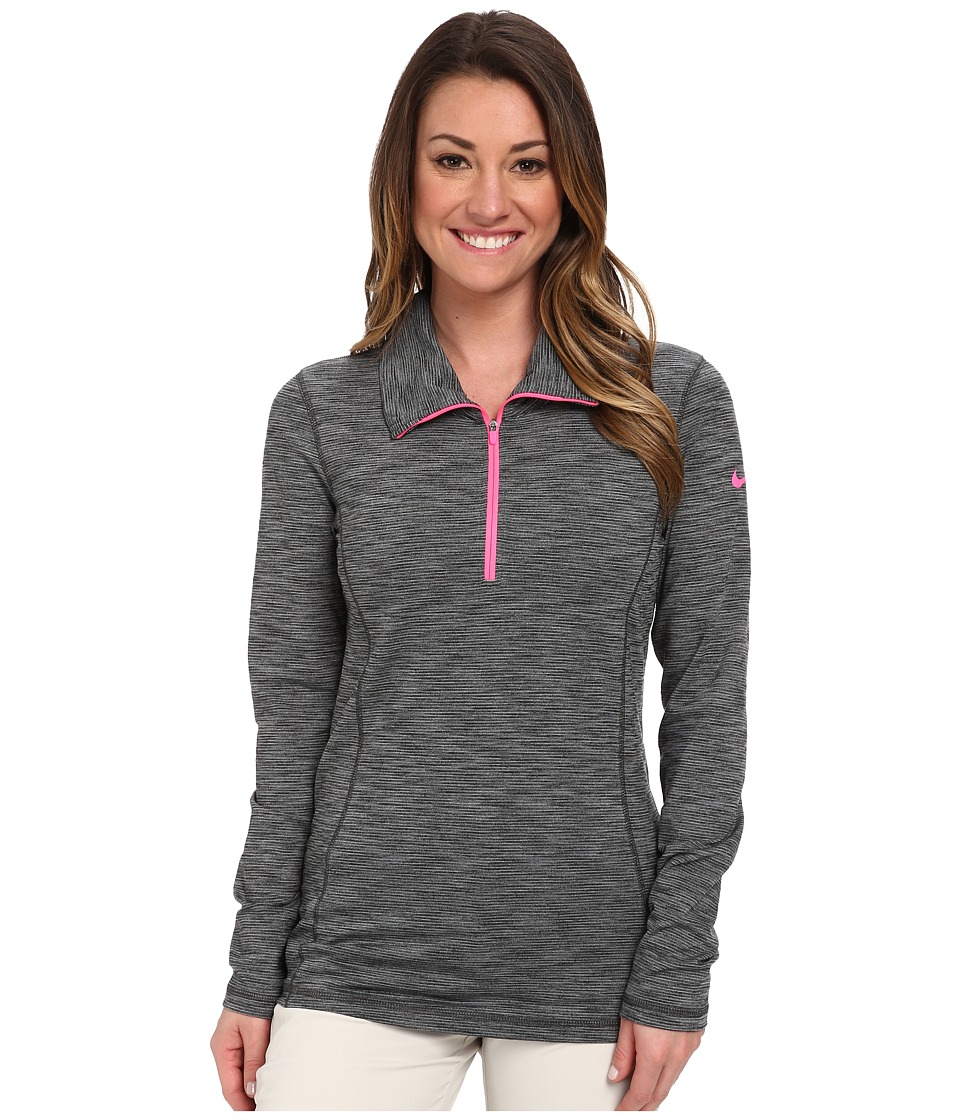 Nike Golf - Hyperflight 1/2-Zip (Anthracite/Cool Grey/Pink Pow) Women's Long Sleeve Pullover