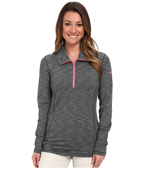 Nike Golf - Hyperflight 1/2-Zip (Anthracite/Cool Grey/Pink Pow) Women