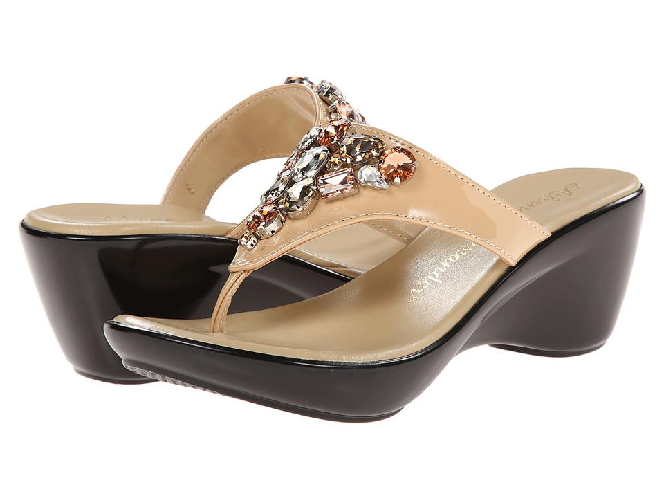 Athena Alexander - Shanda (Nude Patent) Women's Shoes