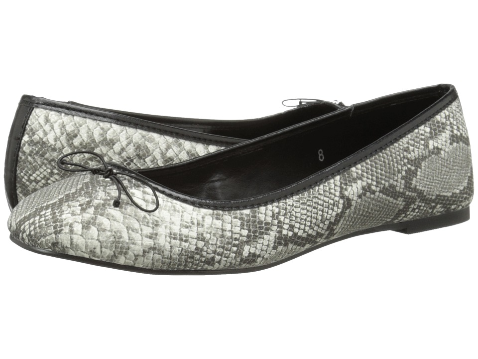 Athena Alexander - Polo (Black Python) Women's Dress Flat Shoes