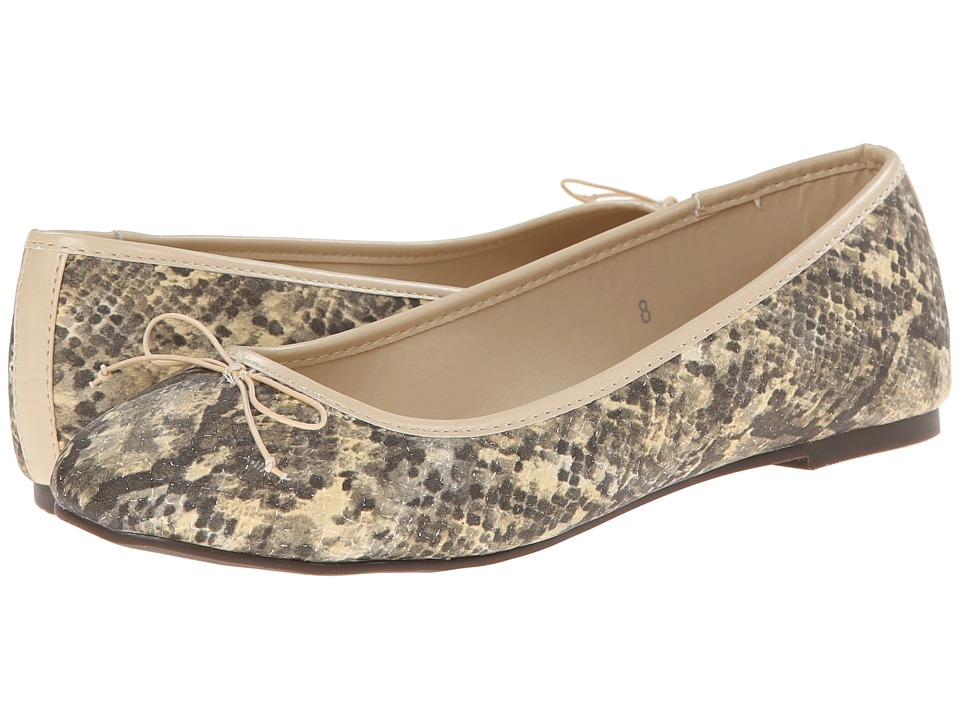 Athena Alexander - Polo (Natural Snake) Women's Dress Flat Shoes