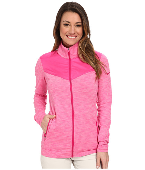 Nike Golf - Hyperflight Full-Zip Jacket (Hot Pink/Hot Pink/Fireberry/Fireberry) Women's Coat