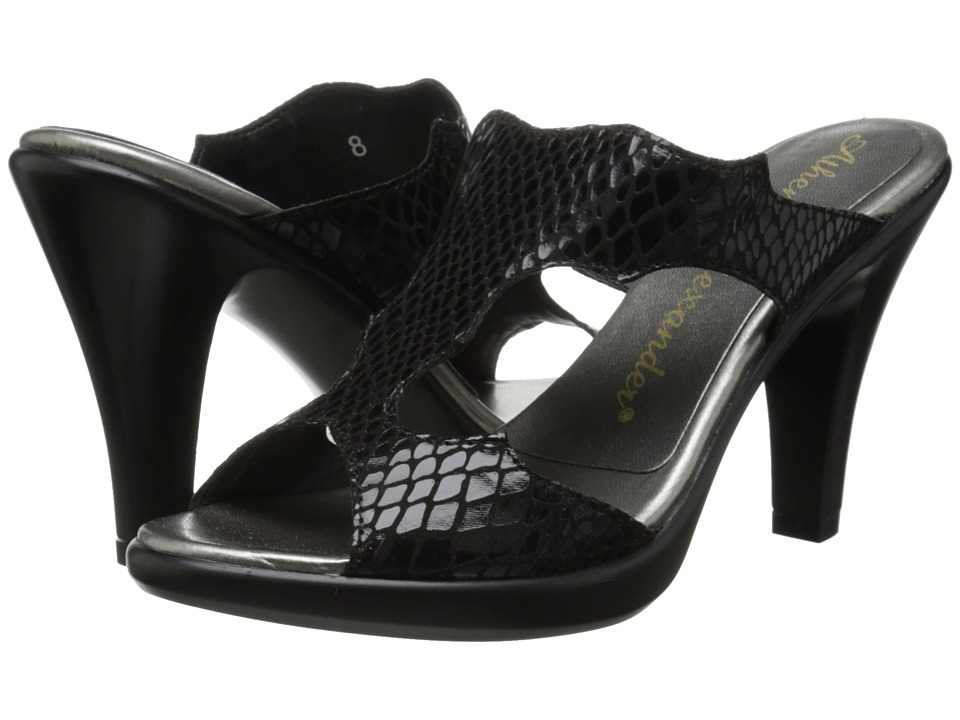 Athena Alexander - Venus (Black Reptile) Women's Shoes