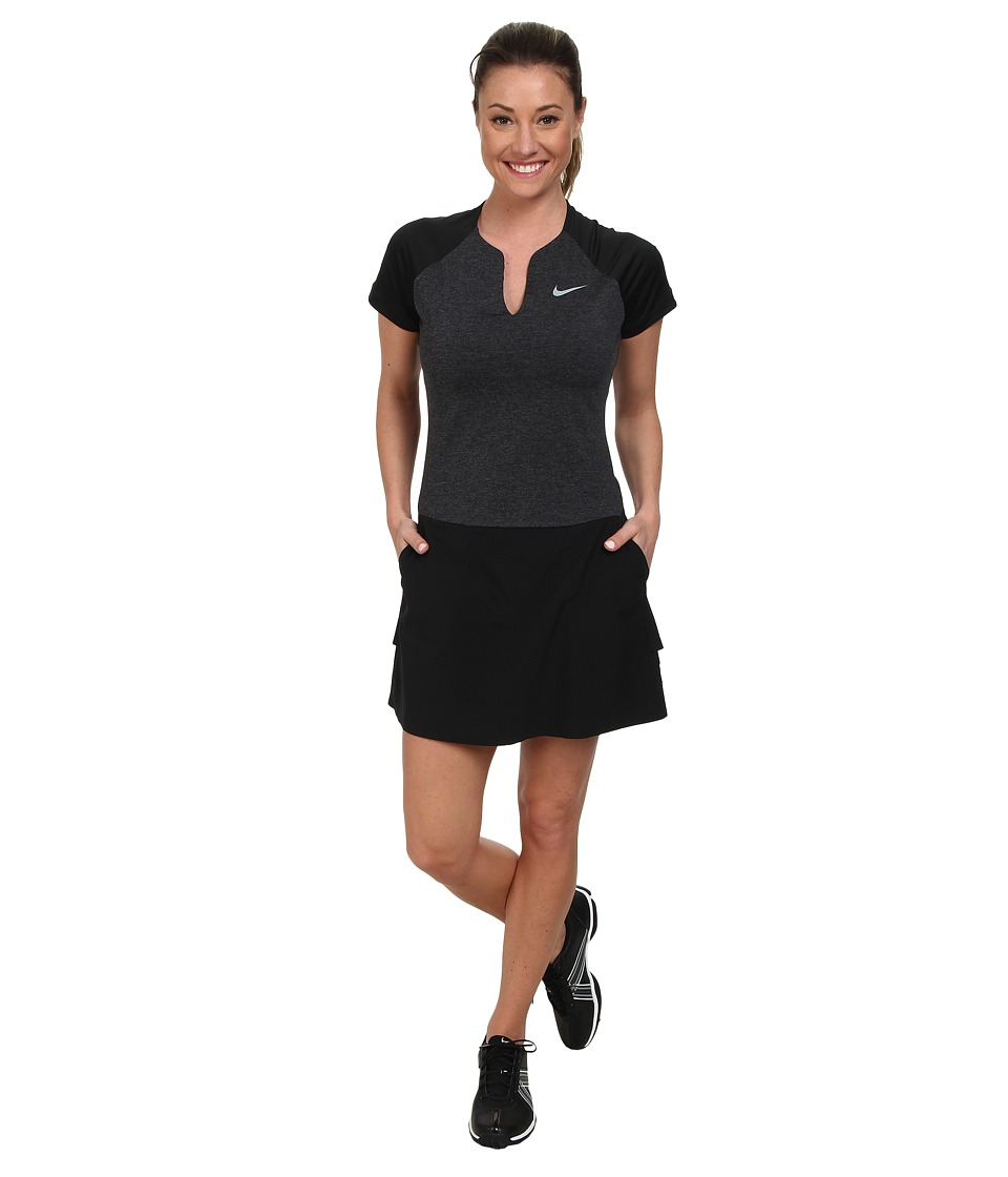Nike Golf - Nike Innovation Links Dress (Black/Black/Dove Grey) Women