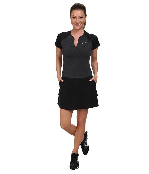 Nike Golf - Nike Innovation Links Dress (Black/Black/Dove Grey) Women