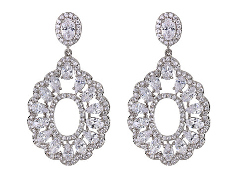 Nina - Cicely (Silver/CZ) Earring