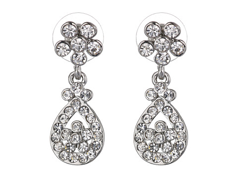 Nina - Donata (Silver/Crystal) Earring
