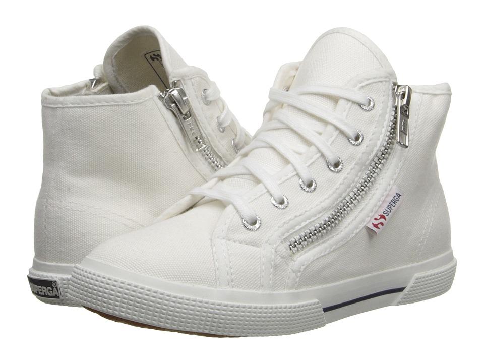 Superga Kids - 2224 COTDJ (Infant/Toddler/Little Kid/Big Kid) (White) Kids Shoes