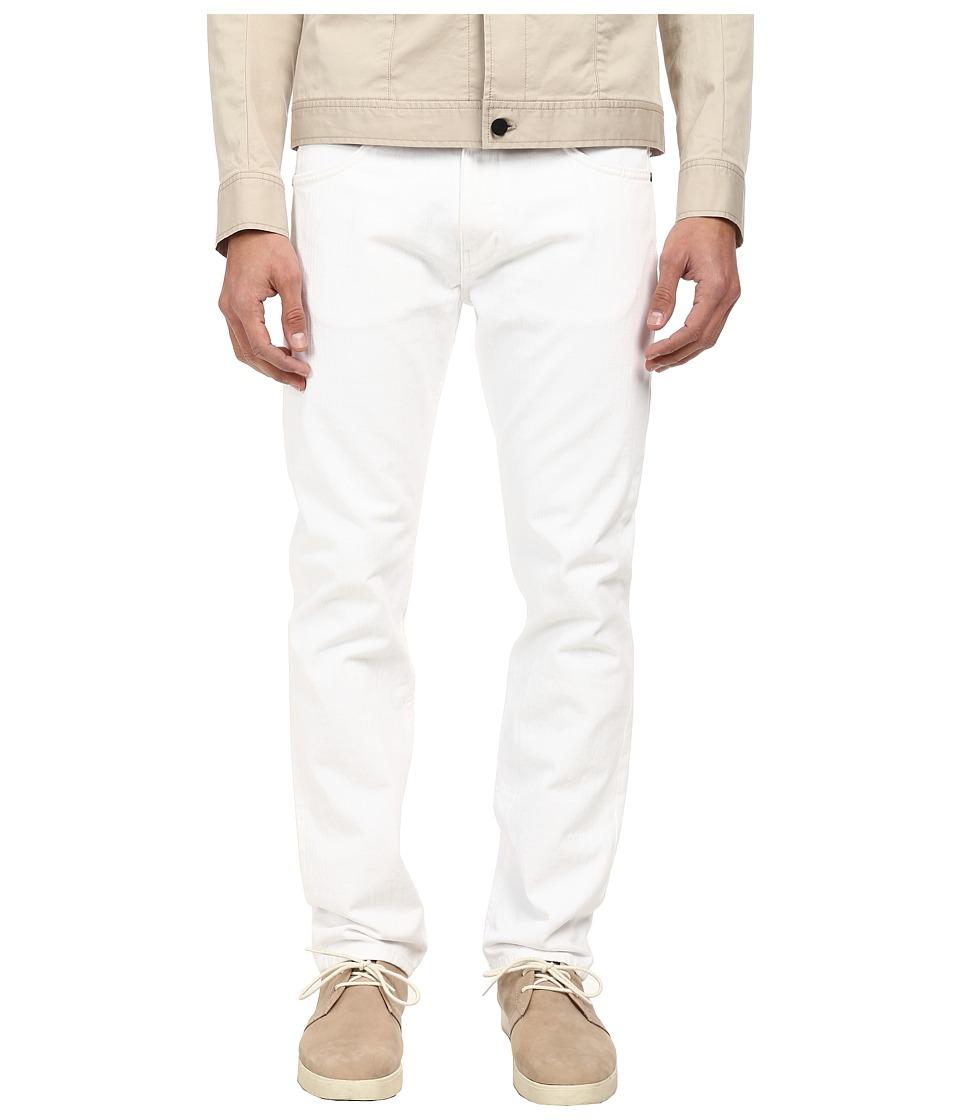 HELMUT LANG - Overdye White Wash Skinny Jean (White) Men