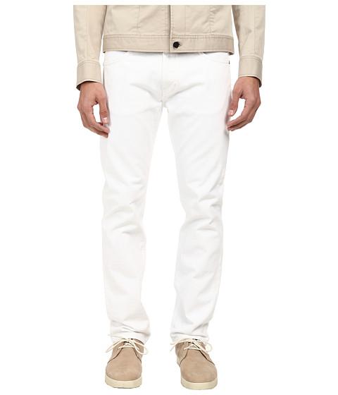 HELMUT LANG - Overdye White Wash Skinny Jean (White) Men's Jeans