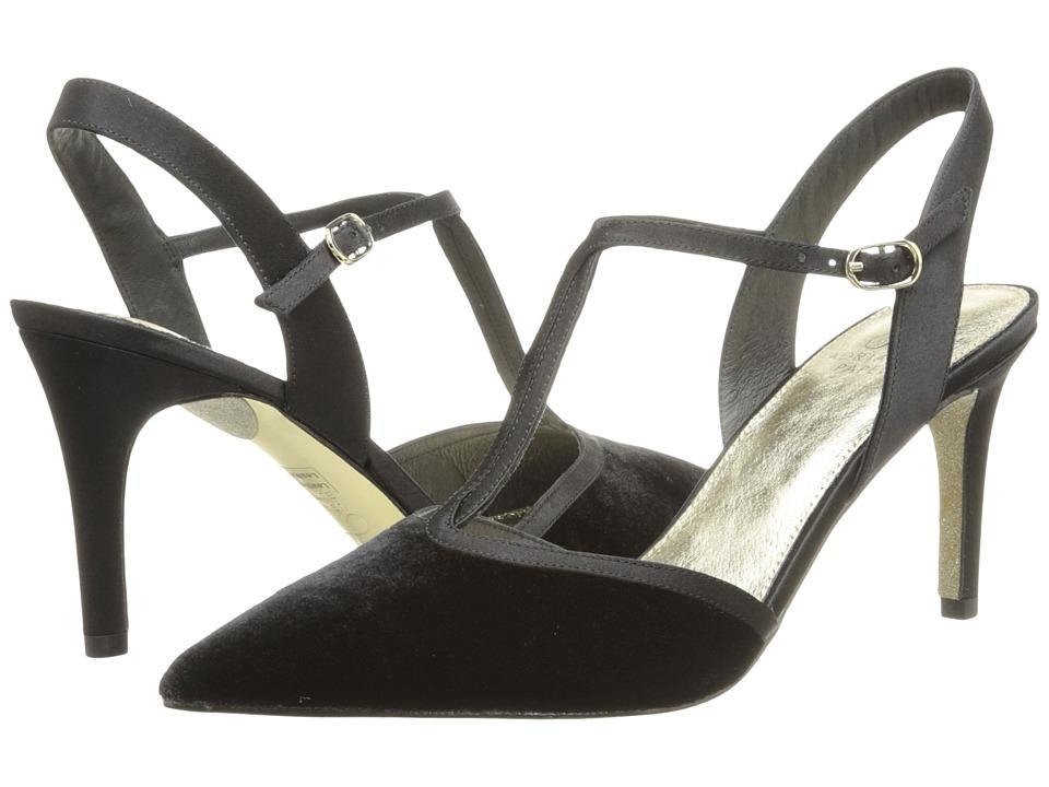 Adrianna Papell - Helena (Black Velvet) High Heels