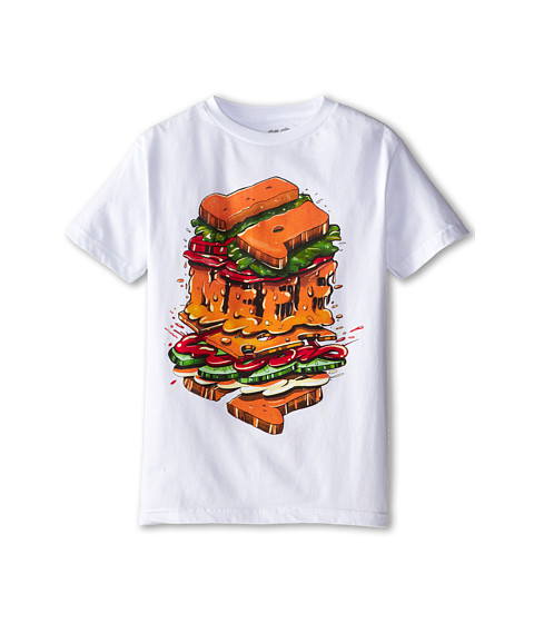Neff Kids - Split Tee (Big Kids) (White) Boy