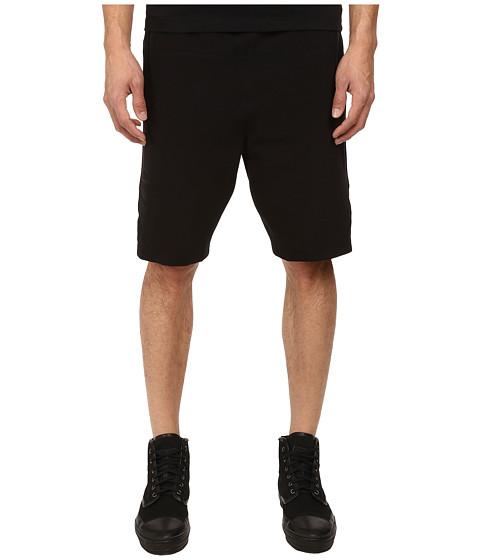 HELMUT LANG - Stretch Ottoman Track Short (Black) Men's Shorts