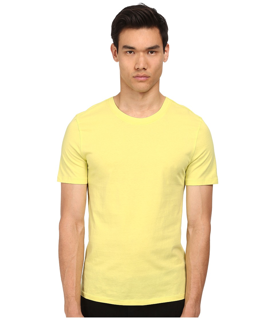 HELMUT LANG - Base Jersey S/S Tee (Acid Yellow) Men's T Shirt