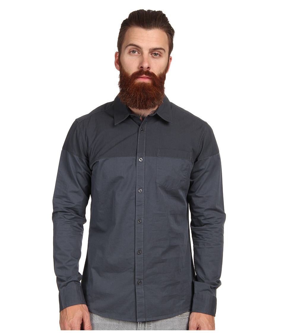 AG Adriano Goldschmied - The Inversion Shirt (Crevasse) Men's Long Sleeve Button Up