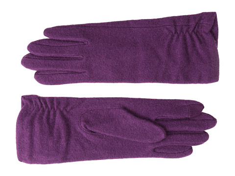 Echo Design - Touch Long Rouched Glove (Boysenberry) Dress Gloves