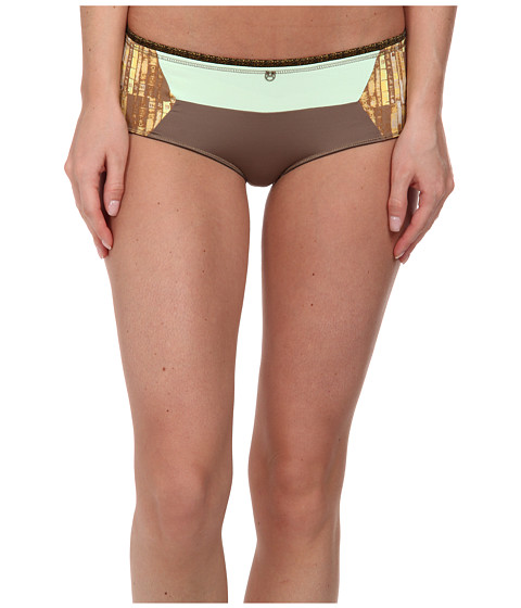 Maaji - The Chestnut Chalk Boyshort (Multicolor) Women's Swimwear