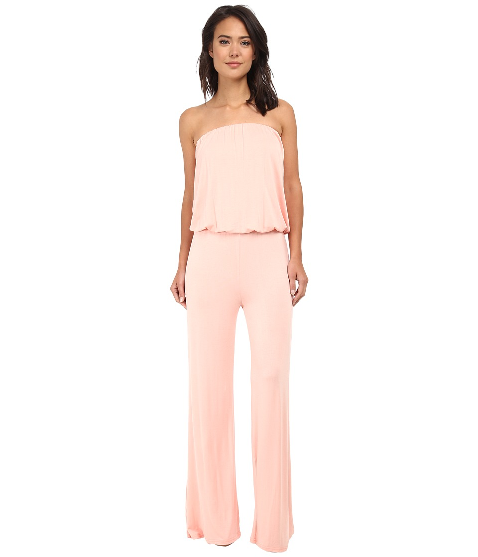 Culture Phit - Strapless Boyfriend Jumper (Blush) Women's Jumpsuit & Rompers One Piece