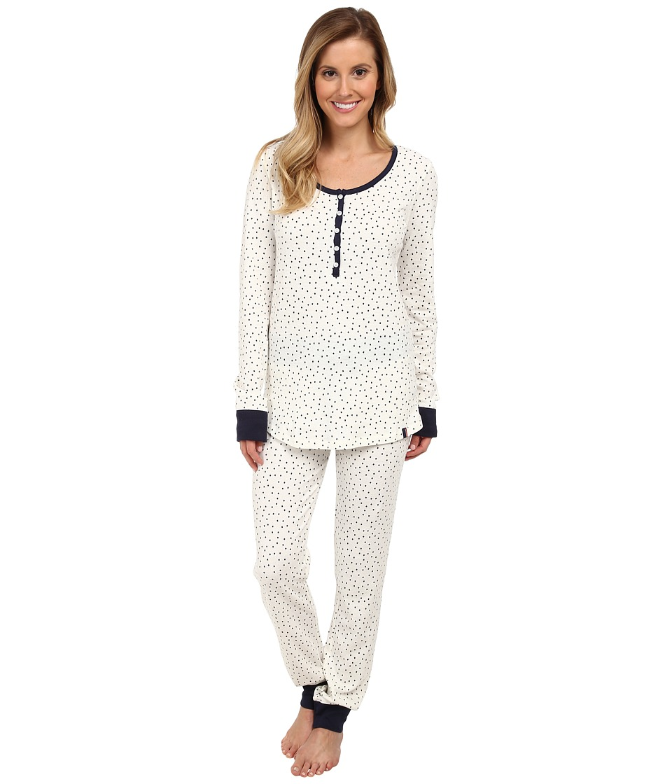 Tommy Hilfiger - Thermal Set (Starry Ditz Fairisle) Women's Pajama Sets