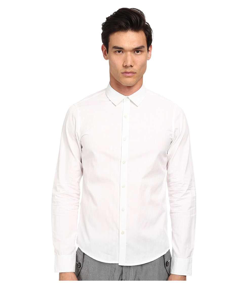 PRIVATE STOCK - The Maida Vale Shirt (White) Men's Clothing