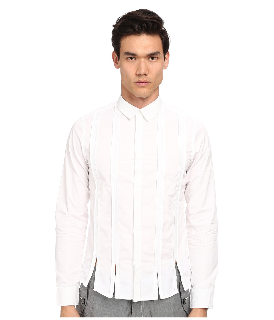 PRIVATE STOCK - The Exminster Shirt (White) Men's Clothing