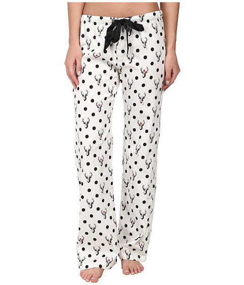 P.J. Salvage - Making Spirits Bright Pajama Pant (Ivory) Women's Pajama