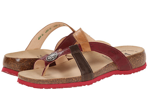 Think! - Julia Damen - 84334 (Rosso/Kombi) Women's Sandals