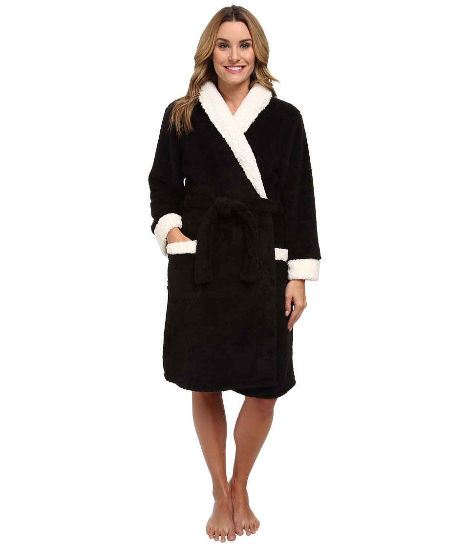 P.J. Salvage - Making Spirits Bright Robe (Black) Women's Robe