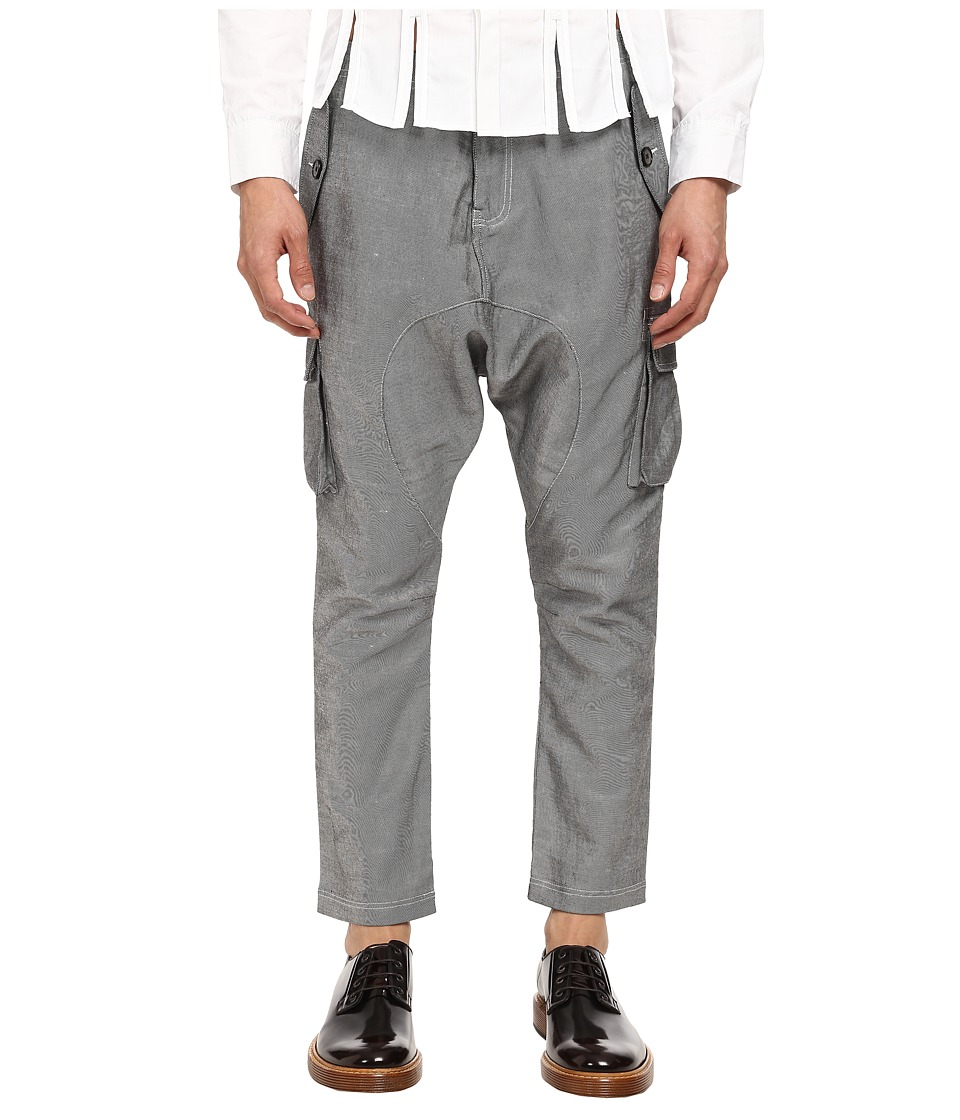 PRIVATE STOCK - The Hellingly Pant (Grey) Men's Casual Pants