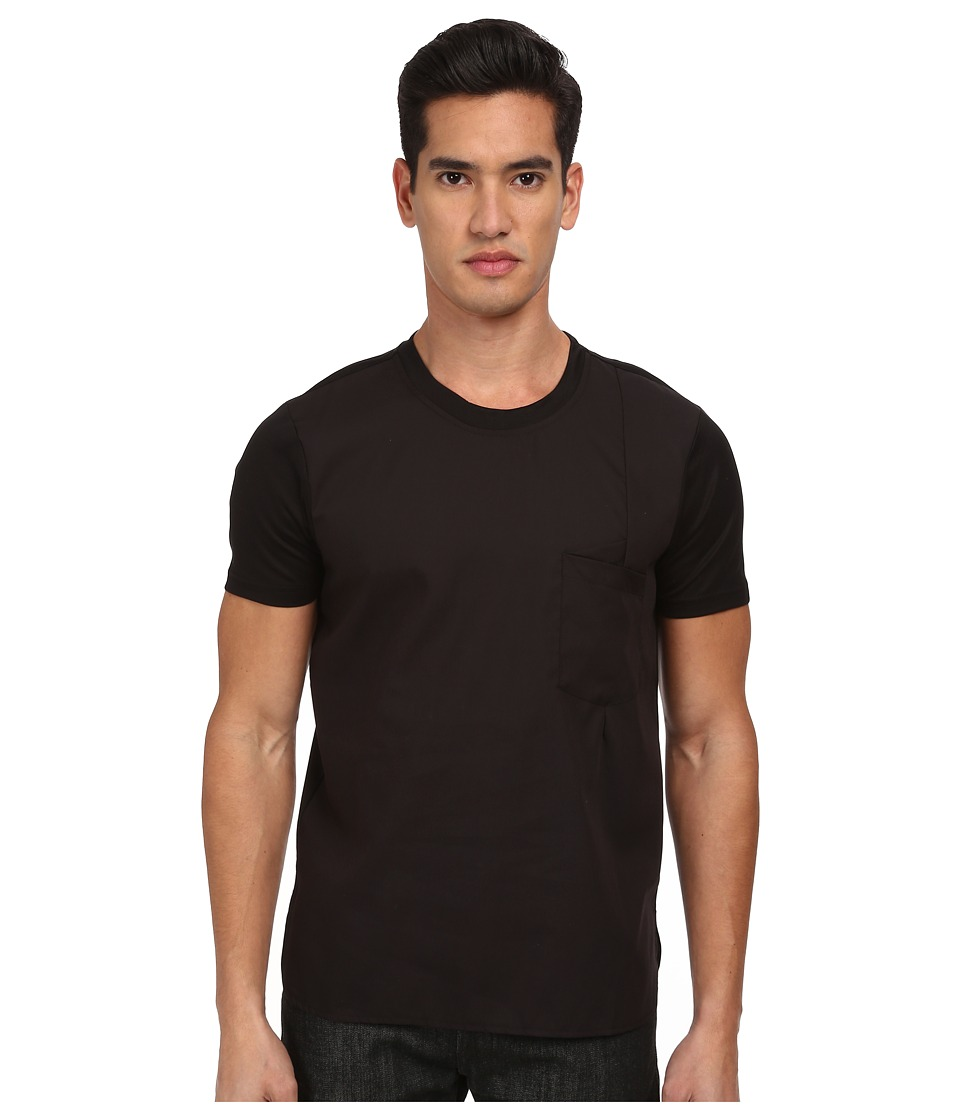 PRIVATE STOCK - The Gartloch Shirt (Black) Men's Short Sleeve Pullover