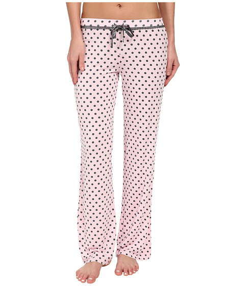 P.J. Salvage - Sweet Hearts Dot Pajama Pant (Pink) Women